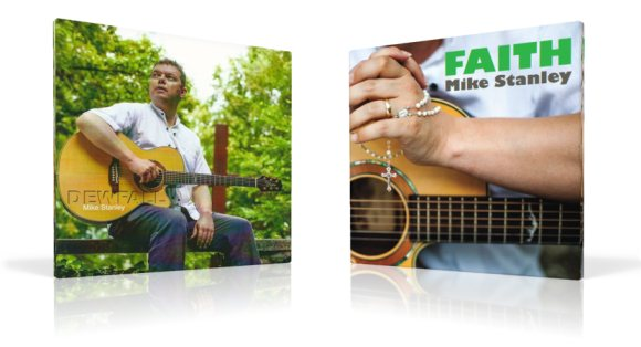 Two new CD's by Mike Stanley