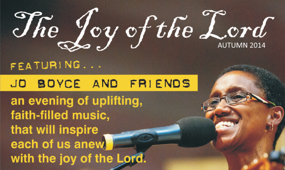 Joy of the Lord Concert Tour with Jo Boyce & Friends - Autumn 2014
