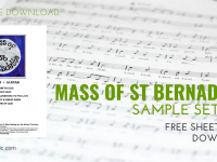 Mass of St Bernadette ~ Revised Translation [FREE DOWNLOAD]