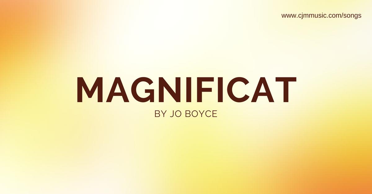 magnificat cjm music