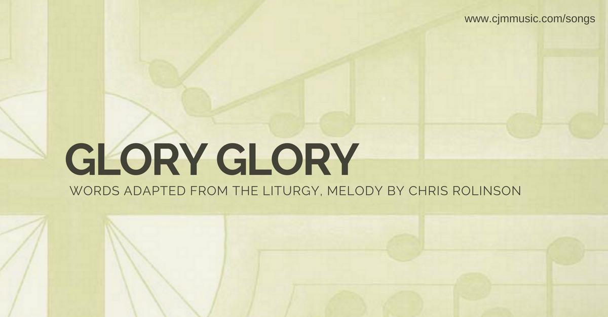 glory glory cjm music