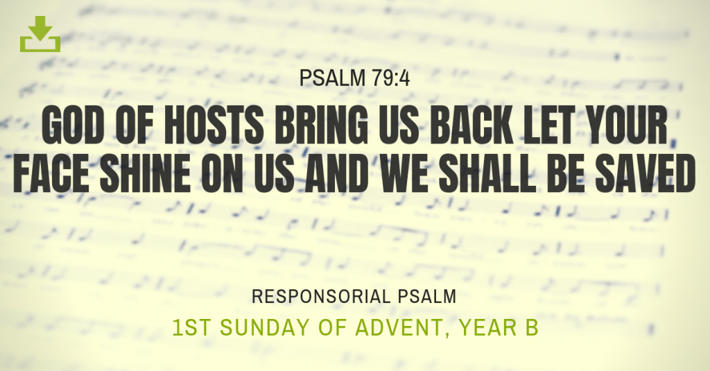 Responsorial Psalm Year A 1st Advent Sunday