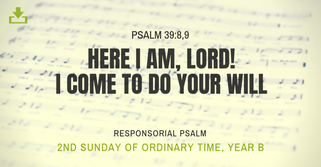 2nd Sunday in Ordinary Time, Year B | CJM MUSIC