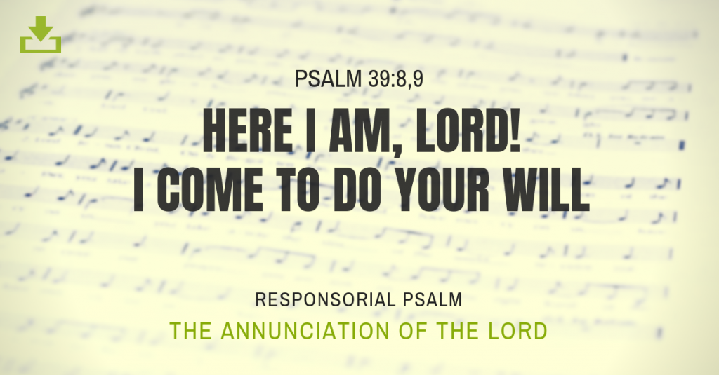 The Annunciation of the Lord [Year A, B, C] | CJM MUSIC