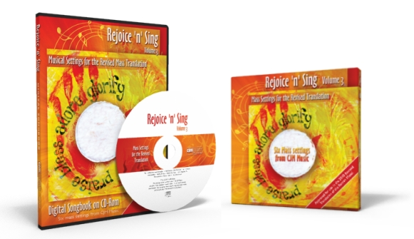 Rejoice n Sing Vol 3. - Mass Settings for the Revised translation
