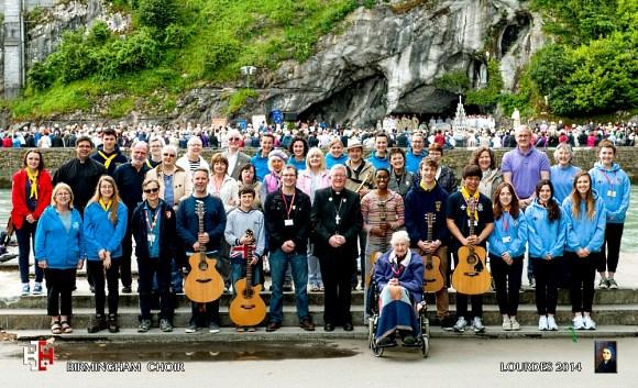 Pilgrimage to Lourdes 2014