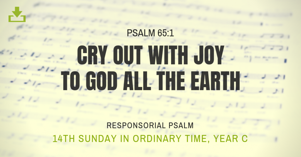 Responsorial Psalm Year C 14th sunday