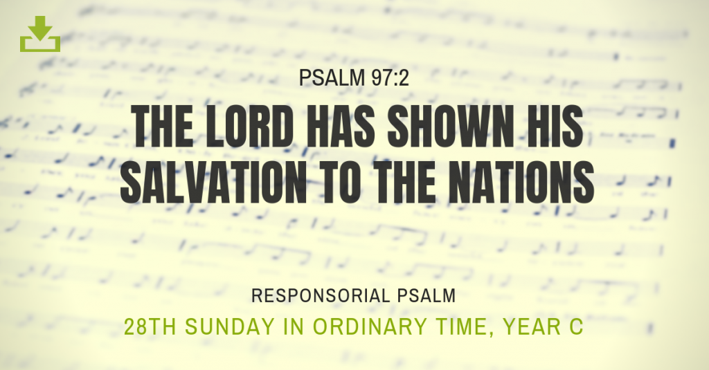 Responsorial Psalm Year c 28th sunday ordinary time