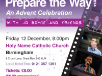 Prepare the Way Advent Celebration 2014 – For one night only