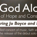 In God Alone Concerts – the launch of the first solo EP by Jo Boyce