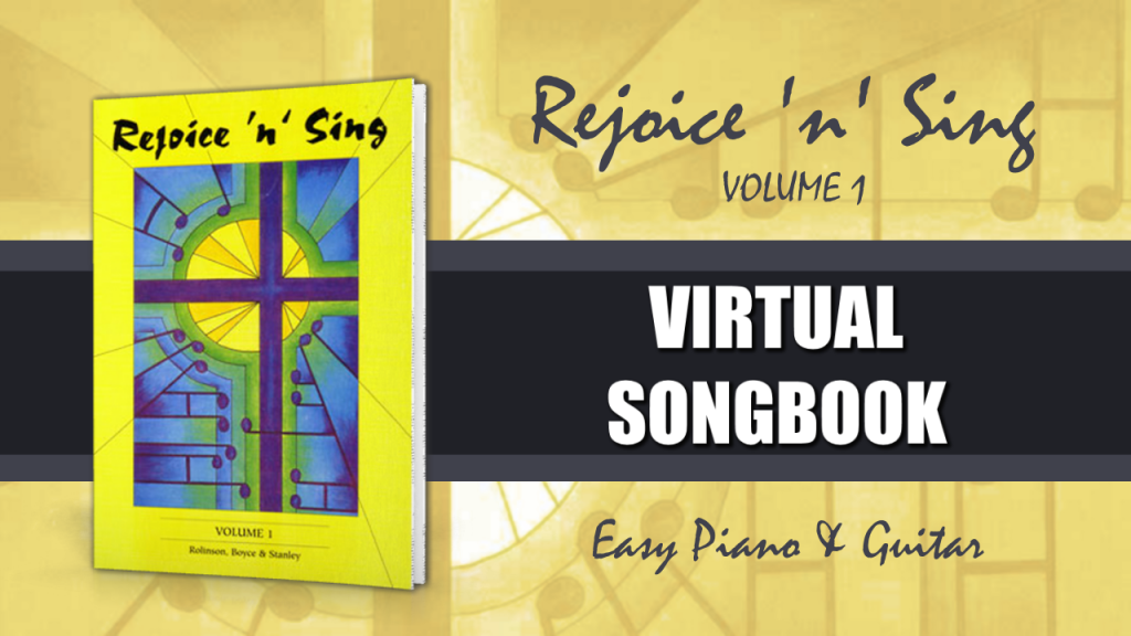 Rejoice n Sing Vol 1 virtual songbook image