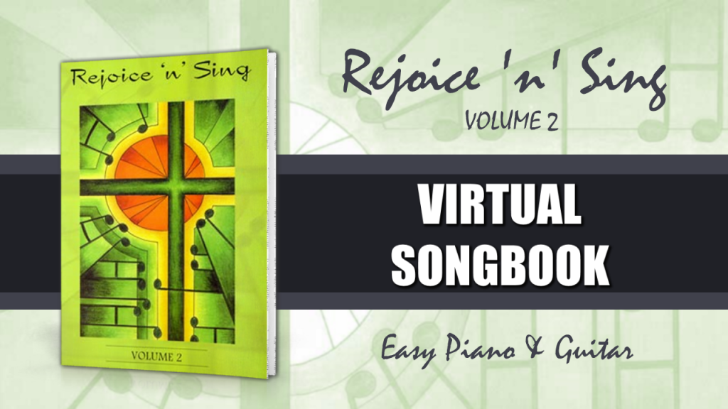 Rejoice n Sing Vol 2 virtual songbook image