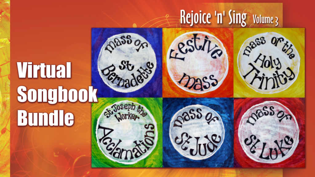 Rejoice n Sing Vol 3 virtual songbook image