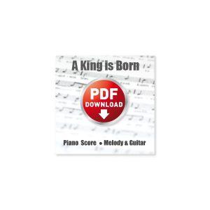 a-king-is-born-piano-score-guitar-sheet-music-pdf