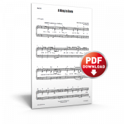a king is born - sheet music - cjm music