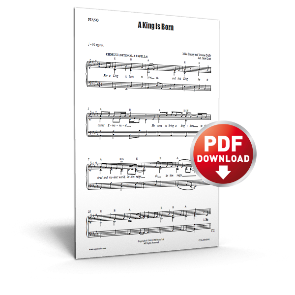 a-king-is-born-sheet-music-product-image-600px