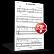 love shown down - sheet music - cjm music