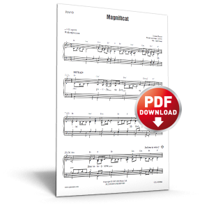 magnificat - sheet music - cjm music