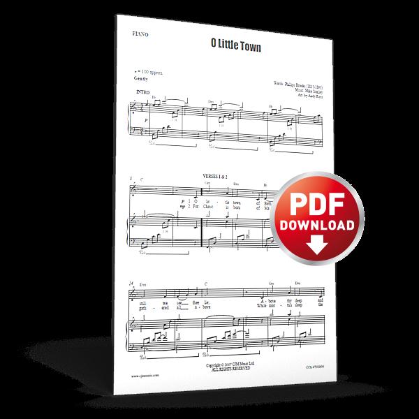 o little town - cjm music - sheet music