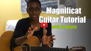 magnificat - cjm music - guitar tutorial video with jo boyce