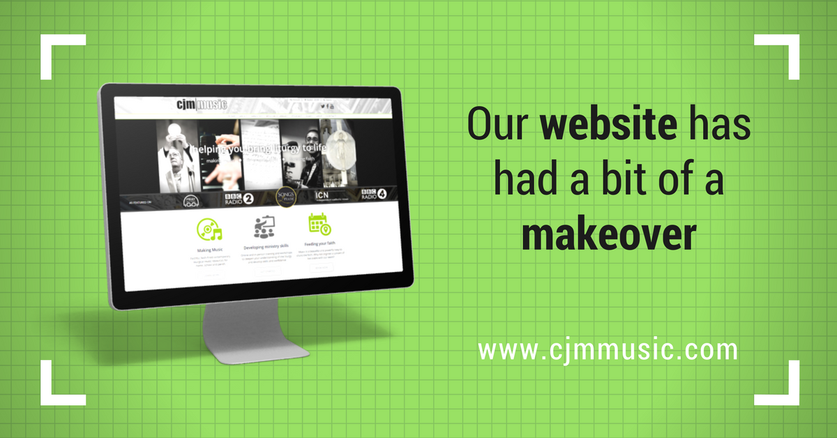 cjm music website had a bit of a makeover