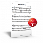 child of grace (therese) - sheet music - cjm music