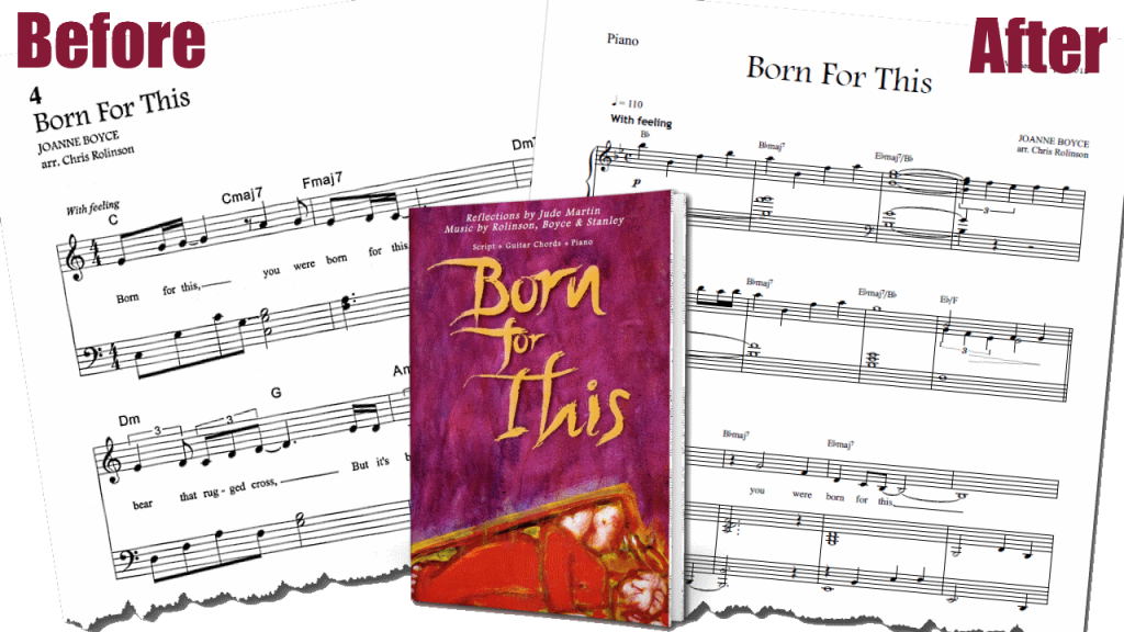 Meet The New And Improved Born For This Virtual Songbook
