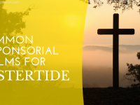 2 Common Responsorial Psalms for Eastertide