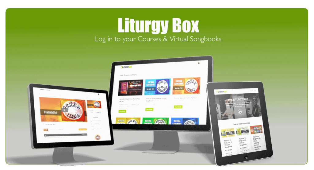 Click to log in to LITURGY BOX
