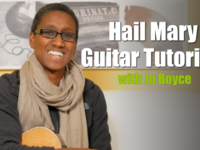 Hail Mary Guitar Tutorial [Video]