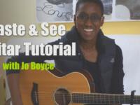 Taste and See Guitar Tutorial [Video]